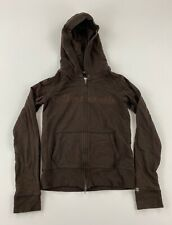 ABERCROMBIE - Women's Size Large (L) - Full Zip Hoodie Jacket , Brown