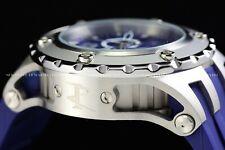 Invicta 52mm Subaqua Reserve Blue Silver Swiss Movement Chrono Screw Down Watch