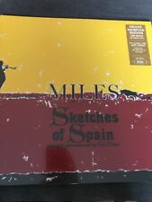 MILES DAVIS 'SKETCHES IN SPAIN' NEW DELUXE GATEFOLD 180G VINYL LP - NEW / SEALED