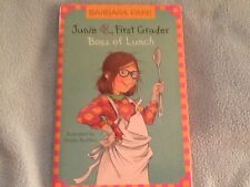 JUNIE B., FIRST GRADER BOSS OF LUNCH (HARDCOVER)
