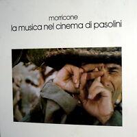 BOX ENNIO MORRICONE PASOLINI OST FILMS LP + 6 TABLE + INSERT COFANETTO ITALY '84