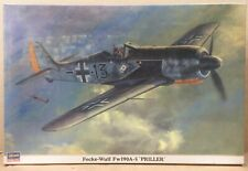 Hasagawa German Focke-Wulf Fw190A-5 PrillerAirplane Model Kit New Sealed in Box