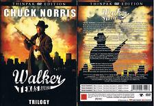 WALKER, TEXAS RANGER --- Trilogy --- Thinpak Edition --- Chuck Norris --- FSK 18
