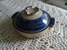 Ceramic Soup Tureen blue
