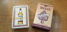 AUTHENTIC BELLS LTD EDITION PLAYING CARDS PATIENCE WHISKY NEW SEALED. Free P&P.