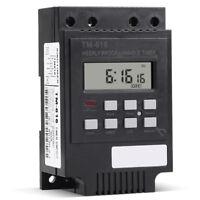 Digital LCD Programmable Timer DC 12V/220V DIN Rail Time Relay Switch Power KLI