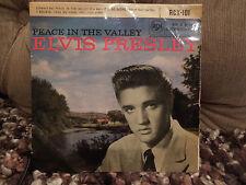"""Elvis Presley la paz en el valle Raro 7"""" EP"""