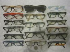 Lot of 17 Ray-Ban Plastic Eyeglasses Men Women BIG WIDE SEXY Office Retro Nurses
