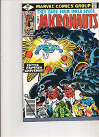 Micronauts #8 First Printing Comic Book. First Appearance of Captain Universe!