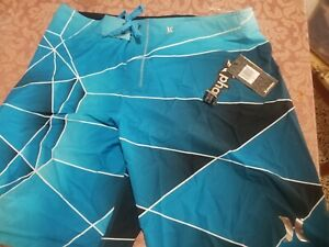 New Men's Hurley Phantom Hex Board Shorts