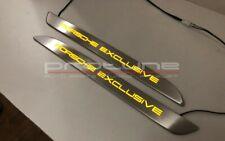 Porsche Macan Illuminated Door Sill Panels Porsche Exclusive HQ SE 2pcs