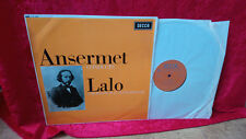 Ansermet conducts Lalo UK Vinyl LP