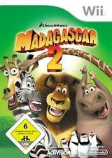 Nintendo Wii WII-U Madagascar 2 * tedesco ottimo stato