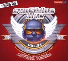 Sunshine Live 32 Paul van Dyk, Scooter, Chicane, Paul Kalkbrenner, Laur.. [2 CD]