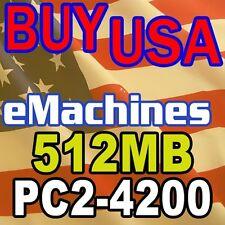 512MB eMachines W4682 W4685 W4885 pc2700 Ram MEMORY