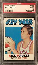 1971 Topps Basketball #156 Bill Paultz RC ABA PSA 9 MINT Low Pop+
