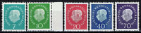 Germany / Berlin - Mi-Nr 182/186 postfrisch / MNH ** (B1444)