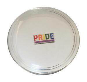 Pride Pewter Jewellery Trinket Round English Pill Box 557