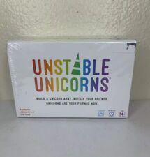 New ListingUnstable Unicorns Card Game Brand New