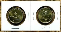 Canada 2019 Regular Loonie BU UNC From Mint Roll!!