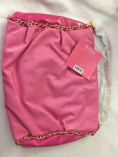 NEW Nicki Minaj Pink Friday Tote Bag Faux Leather Pink & Gold Chain