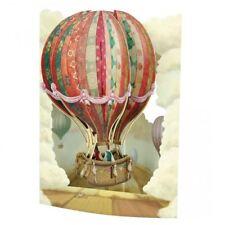 Santoro 3D Greeting Swing Card - Hot Air Balloon