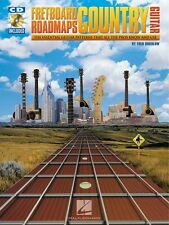 Fretboard Roadmaps Country Guitar - The Essential Guitar Patterns New 000695353