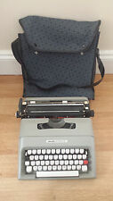 Rare Vintage Olivetti Lettera 35i Manual Typewriter With Original Soft Case