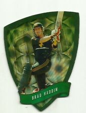 Cricket Australia Select 2009/10 DIE CUT FDC26 BRAD HADDIN ODI TEAM CARD ACB