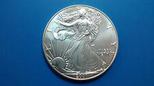 MONEDA DE PLATA PURA  0.999/1000 EEUU Liberty Eagle  AÑO 2001 1 ONZA  EN CAPSULA