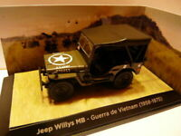 Voiture 1/43 TEST : JEEP WILLYS MB guerre Viet-Nam (1958/1975)