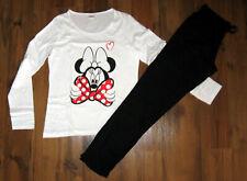Damen Schlafanzug Gr. XL Disney Minnie Maus Pyjama Set lang Nachtwäsche