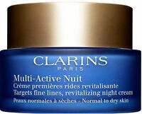 Clarins Multi-Active Night Cream Normal to Dry Skin 1.6 oz
