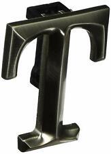 Monogram Letter T Door Knocker - Nickel