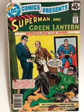 SUPERMAN and GREEN LANTERN #6 (February 1979) Beautiful Condition! VF+