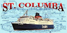 Build model boat 4 radio control Sealink vessel full size Printed Plan & Article
