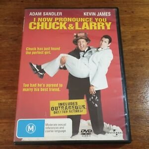 I Now Pronounce You Chuck & Larry DVD R4 Like New! FREE POST