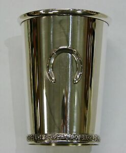 BWK Official Kentucky Derby Sterling Silver Mint Julep Cup - In Great Shape