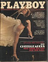 VINTAGE PLAYBOY MAGAZINE MARCH 1979 CHEERLEADERS WHO WERE TOO HOT FOR THE N.F.L.
