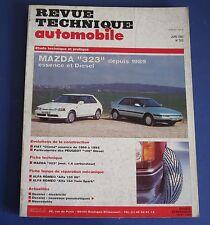 Revue technique  RTA 552 Mazda 323 depuis 1989 essence & diesel