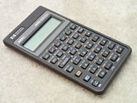HP 32SII RPN Scientific Calculator Not Working Bad Keyboard