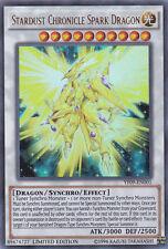 Stardust Chronicle Spark Dragon - YF09-EN001 - Ultra Rare - Limited Edition Yugi