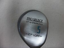 /Pro Select Ladies - 21* Loft - 17-4 Stainless - #5 Fairway Wood - Right Hand