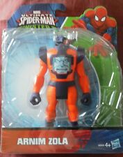 Ultimate Spider-Man vs The Sinister 6 - Arnim Zola 6 Inch Figure. Bnib