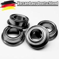 4x Flanschkugellager 4x7x2.5 mm Miniature Kugellager mit Bund Bearings L0171