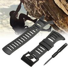 Gomma di ricambio cinturino per SUUNTO AMBIT2 S RED/AMBIT3 SPORT nero