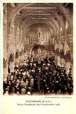 CP 62 - PAS-DE-CALAIS - Fleurbaix - Messe Ponfificale du 8 septembre 1935