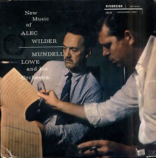 Mundell LOWE New music of Alec Wilder US LP RIVERSIDE 12-219