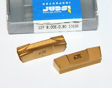 GIF 8.00E-0.80 IC635 ISCAR *** 10 INSERTS *** FACTORY PACK ***