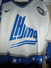 2008-2009 QMJHL CHL OHL NIKE  ALL-STAR GAME WORN HOCKEY JERSEY HERSHEY CUP